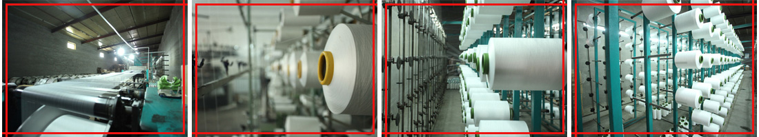 warping warehouse for microfiber towel